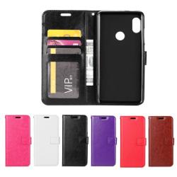 Huawei P30 Lite - Plånboksfodral - Välj Färg! Black Svart