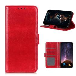 Samsung Galaxy A42 - Crazy Horse Fodral - Röd Red Röd