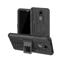 Nokia 3.2 - Ultimata stöttåliga skalet med stöd - Svart Black Svart