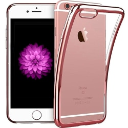 iPhone 7/8 Plus - Färgad TPU - Roséguld Roséguld