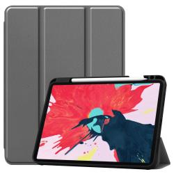 iPad Air 2020, Pro 11 2018/2020 - Tri-Fold Fodral med Pennhållar Grey Grå