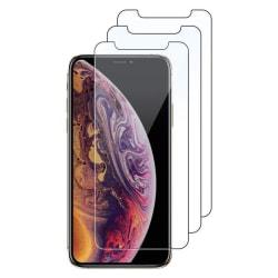 3-Pack härdat glas för iPhone Xs Max