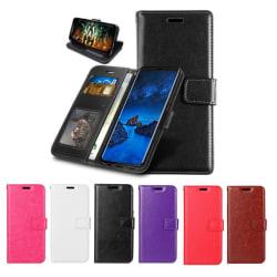 Sony Xperia 10 II - Plånboksfodral - Välj Färg! Black Svart