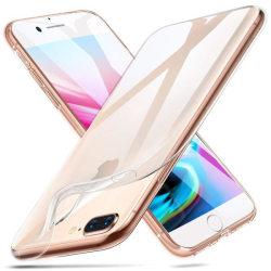iPhone 8 Plus - Transparent TPU Skal