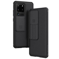 Samsung Galaxy S20 Ultra - NILLKIN CamShield Skal - Svart Black Svart