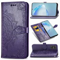 Samsung Galaxy S20 Plus - Mandala Plånboksfodral - Lila Purple Lila