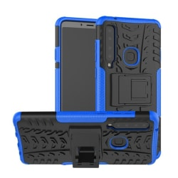 Samsung A9 (2018) - Ultimata stöttåliga skalet med stöd - Blå Blue Blå