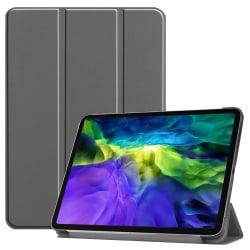 iPad Air (2020) / Pro 11 - Tri-Fold Fodral - Grå Grey Grå