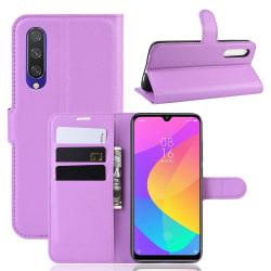 Xiaomi Mi A3 - Litchi Plånboksfodral - Lila Purple Lila