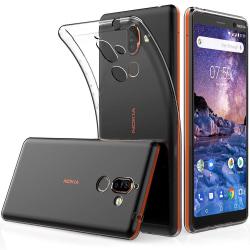 Nokia 7 Plus - Transparent TPU Skal