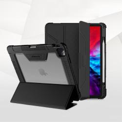 iPad Air (2020) / Pro 11 - NILLKIN Tri-Fold Fodral - Svart Black Svart