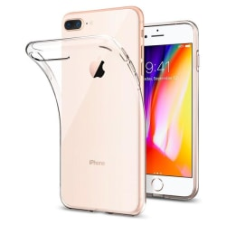 Genomskinligt TPU-skal till iPhone 7/8 Plus