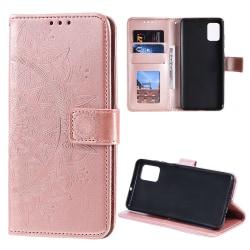 Samsung Galaxy Note 20 - Mandala Plånboksfodral - Roséguld Roséguld