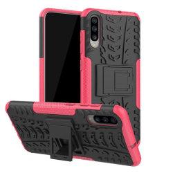 Samsung A9 (2018) - Ultimata stöttåliga skalet med stöd - Rosa Pink Rosa