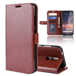 Nokia 3.2 - Plånboksfodral - Brun Brown Brun