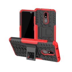 Nokia 3.2 - Ultimata stöttåliga skalet med stöd - Röd Red Röd
