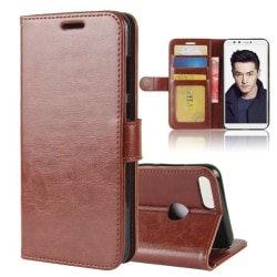 Huawei Honor 9 Lite - Plånboksfodral - Brun Brown Brun