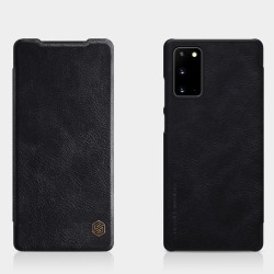 Samsung Galaxy Note 20 - NILLKIN Retro Plånboksfodral - Svart Black Svart