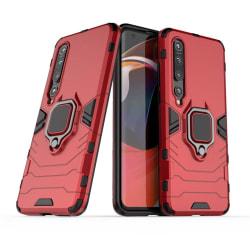 Xiaomi Mi 10 / 10 Pro - Ring Skal - Röd Red Röd