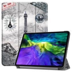 iPad Air (2020) / Pro 11 - Tri-Fold Fodral - Eiffeltornet
