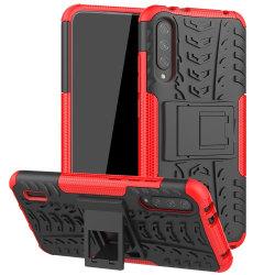 Xiaomi Mi A3 - Ultimata stöttåliga skalet - Röd Red Röd