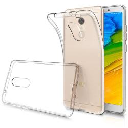 Xiaomi Redmi 5 Plus - Transparent TPU Skal