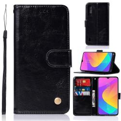 Xiaomi Mi A3 - Plånboksfodral - Svart Black Svart