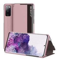 Samsung Galaxy S20 FE - View Window Flip Fodral - Roséguld Roséguld