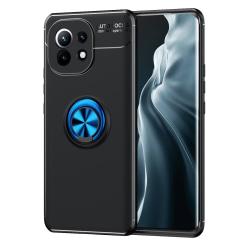 Xiaomi Mi 11 - Ring Skal - Svart/Blå Svart/Blå