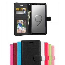 Samsung Galaxy S9 Plus - Plånboksfodral - Brun Brown Brun