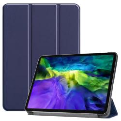 iPad Air (2020) / Pro 11 - Tri-Fold Fodral - Mörk Blå DarkBlue Mörk Blå