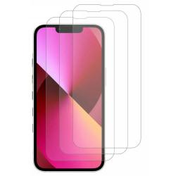 3-Pack - iPhone 13/13 Pro Skärmskydd i härdat glas