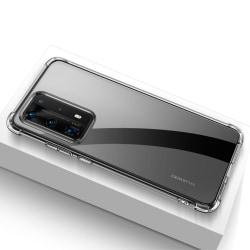 Huawei P40 Pro - Stöttåligt TPU Skal - Transparent