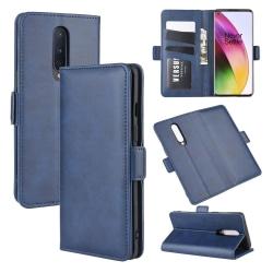 OnePlus 8 - Plånboksfodral - Mörk Blå Mörkblå