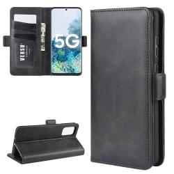 Samsung Galaxy S20 FE - Fodral Med Magnetisk Flärp - Svart Black Svart