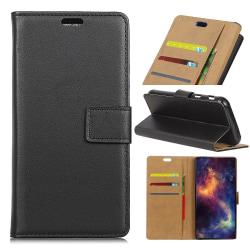 Huawei Honor 9 Lite - Plånboksfodral - Svart Black Svart