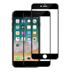 iPhone 6/7/8 - 2-Pack Full Cover Skärmskydd i Härdat Glas
