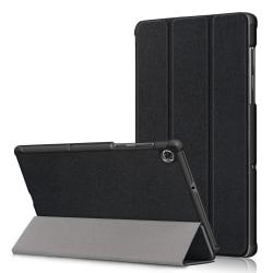 Lenovo Tab M10 Plus - Tri-Fold Fodral - Svart Black Svart