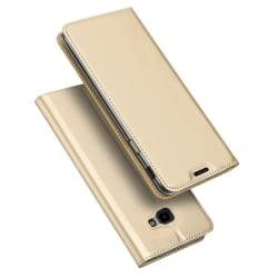 Samsung Galaxy J4 Plus - DUX DUCIS Plånboksfodral - Guld Gold Guld