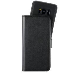 Holdit Plånboksväska Extended Flerfack Magnet Galaxy S9+ Black