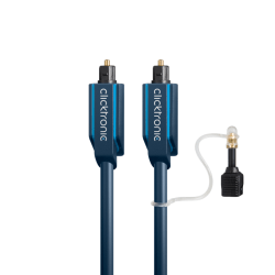 Opto-cable set, 1 m - optical digital cable