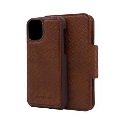 Merskal Wallet Case iPhone 11 Pro Brun