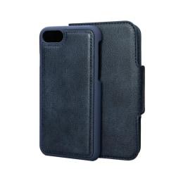 Merskal Wallet Case iPhone 7/8 Blå