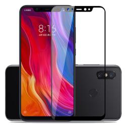 Heltäckande härdat glas till Xiaomi mi 8