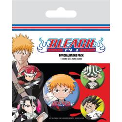 Knappsats - Badge Pack - Bleach (Chibi Characters) multifärg