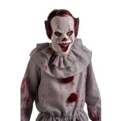 """Ansiktsmask - Clown från """"IT"""" Vit"""