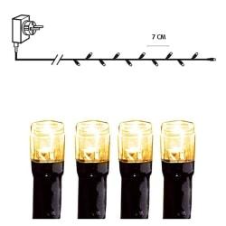 Serie LED ljusslinga 25 meter 360 ljus extra varmvit