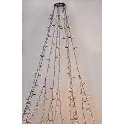 Serie LED granslinga 8x2m 360 LED Extra varm vit