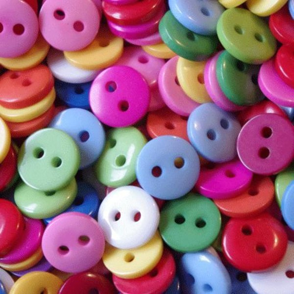 100 knappar - 9 mm