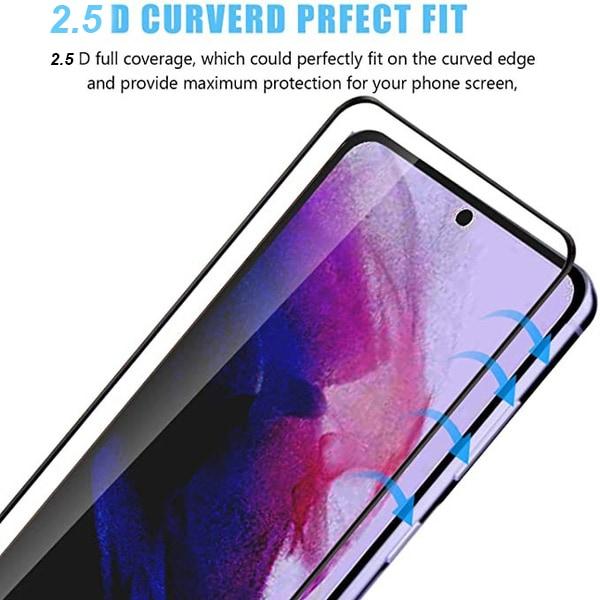 2-Pack Samsung S21 PLUS - 2.5D Härdat Glass - Top Kvalitet